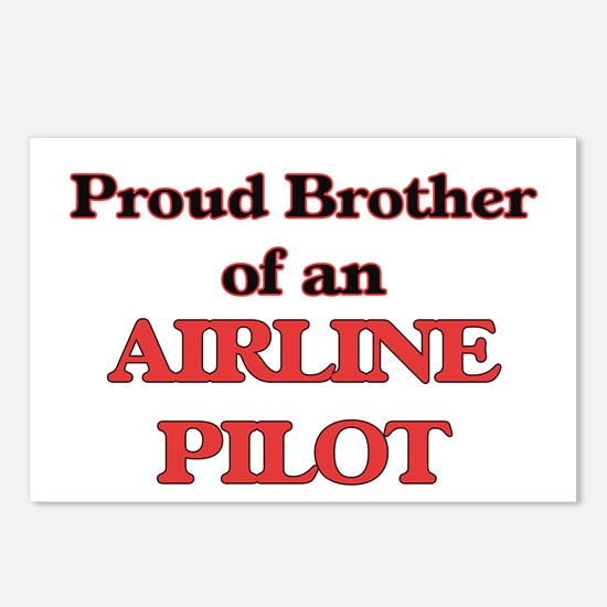 Proud Brother of a Airlin Postcards (Package of 8)