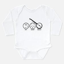 Funny Bluegrass Long Sleeve Infant Bodysuit