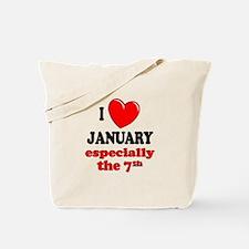 January 7th Tote Bag