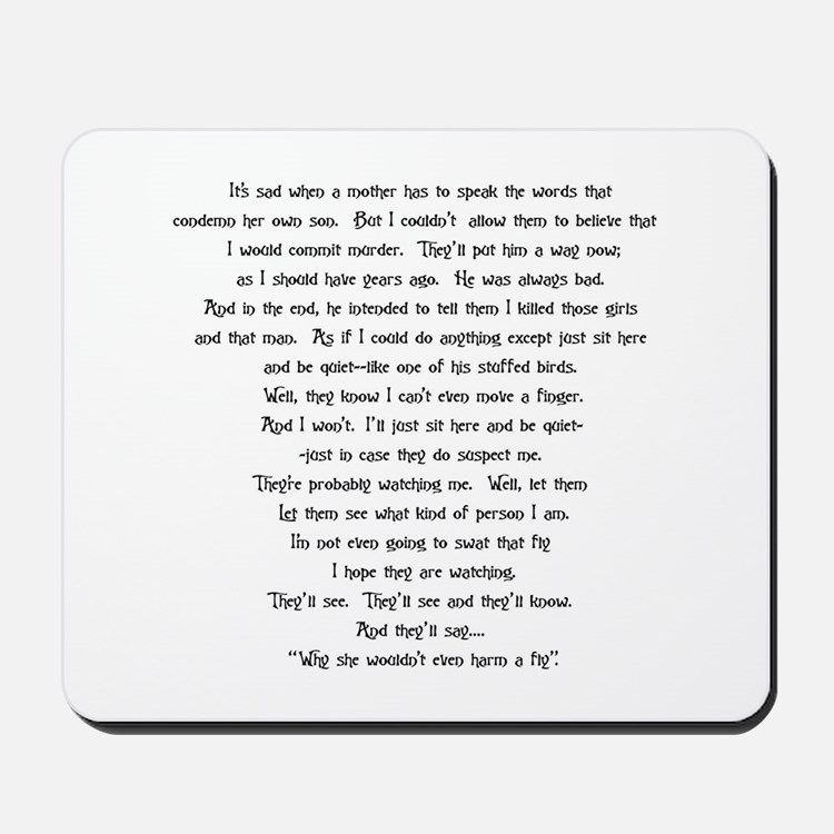 Psycho Speech Mousepad
