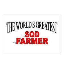 """The World's Greatest Sod Farmer"" Postcards (Packa"
