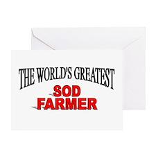 """The World's Greatest Sod Farmer"" Greeting Card"