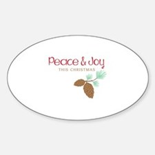 Peace This Christmas Decal