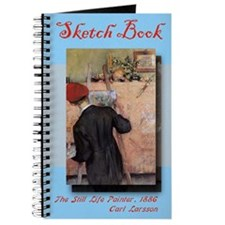 """The Still Life Painter"" - Sketchbook"