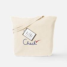 Checklist Approval Tote Bag