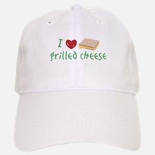 Grilled Cheese Heart Baseball Baseball Baseball Cap