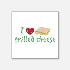 Grilled Cheese Heart Sticker