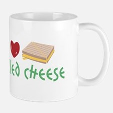 Grilled Cheese Heart Mugs
