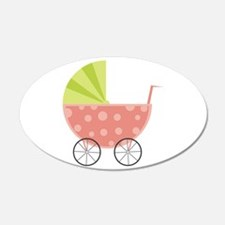 Baby Carriage Wall Decal