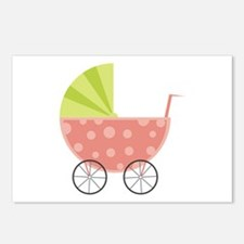 Baby Carriage Postcards (Package of 8)