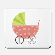Baby Carriage Mousepad