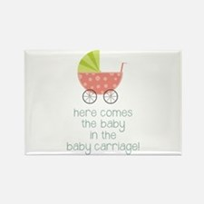 Baby Carriage Magnets