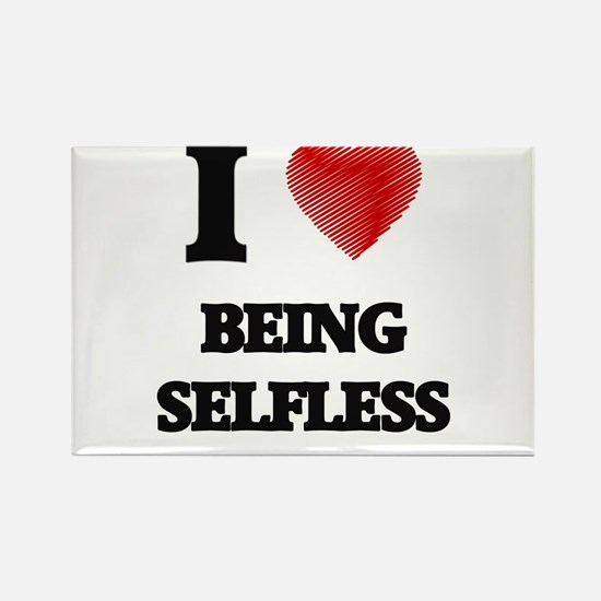 being selfless Magnets