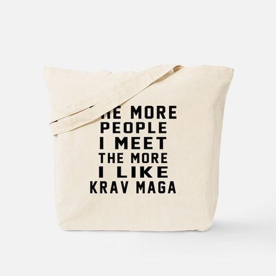 I Like Krav Maga Tote Bag
