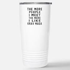 I Like Krav Maga Travel Mug