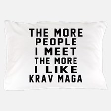 I Like Krav Maga Pillow Case