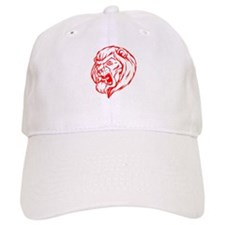 Lion Mascot (Red) Baseball Cap
