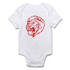 Lion Mascot (Red) Infant Bodysuit