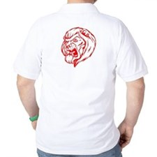 Lion Mascot (Red) T-Shirt