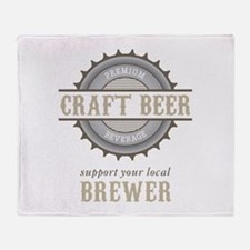 Support Local Throw Blanket