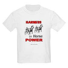 Horse Power - Red Kids T-Shirt