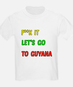 Let's go to Guyana T-Shirt