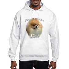 Pomeranian Mom2 Hoodie