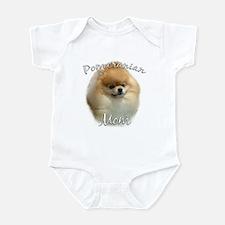 Pomeranian Mom2 Infant Bodysuit