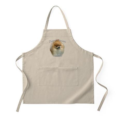 Pomeranian Mom2 BBQ Apron