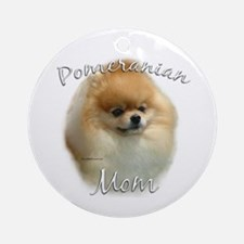 Pomeranian Mom2 Ornament (Round)