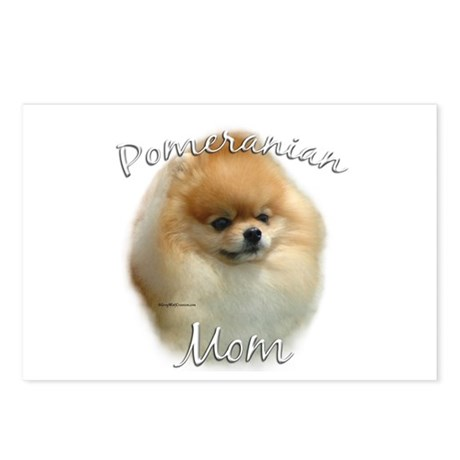 Pomeranian Mom2 Postcards (Package of 8)