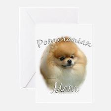 Pomeranian Mom2 Greeting Cards (Pk of 10)