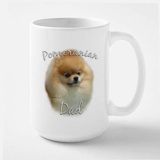 Pomeranian Dad2 Large Mug