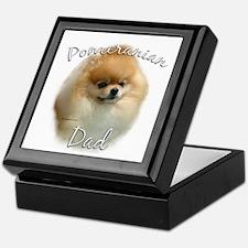 Pomeranian Dad2 Keepsake Box