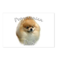 Pomeranian Dad2 Postcards (Package of 8)