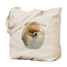 Pomeranian Dad2 Tote Bag