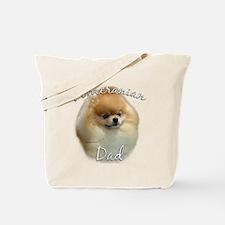 Pomeranian Dad2 Tote Bag