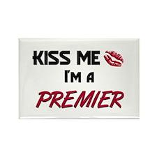 Kiss Me I'm a PREMIER Rectangle Magnet