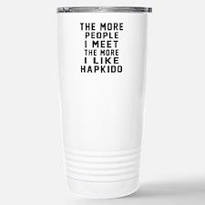 I Like Hapkido Travel Mug