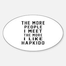 I Like Hapkido Decal