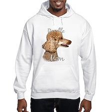 Poodle Mom2 Hoodie