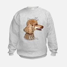 Poodle Mom2 Sweatshirt
