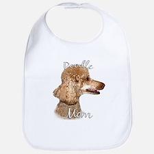 Poodle Mom2 Bib