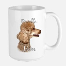 Poodle Mom2 Large Mug