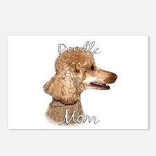Poodle Mom2 Postcards (Package of 8)
