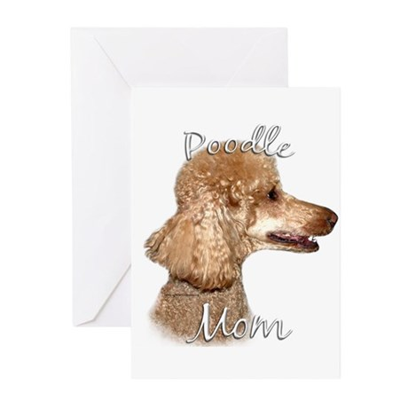Poodle Mom2 Greeting Cards (Pk of 20)