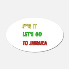 Let's go to Jamaica Wall Decal