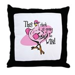 Going To Win Throw Pillow