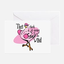 Going To Win Greeting Card