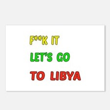 Let's go to Libya Postcards (Package of 8)